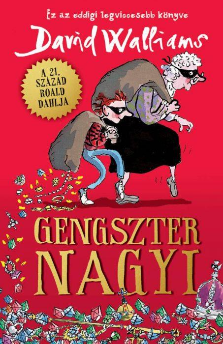 Könyv borító - Gengszter nagyi