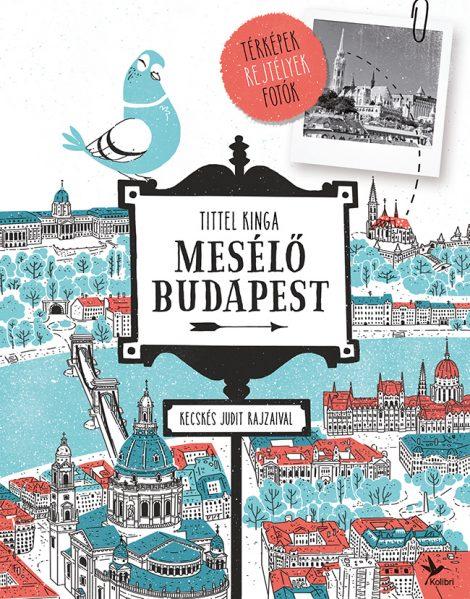 Könyv borító - Mesélő Budapest