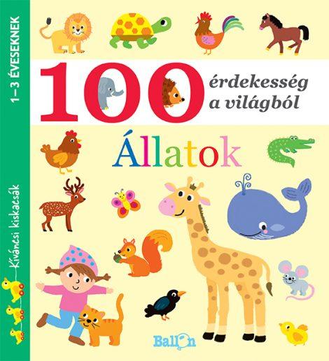 Könyv borító - 100 érdekesség a világból – Állatok