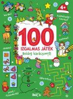 Könyv borító - 100 izgalmas játék – Boldog karácsonyt!