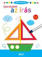 Könyv borító - Ceruzaforgató – Gyerekjáték az írás 3-4 éveseknek
