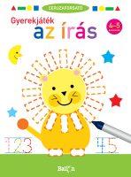 Könyv borító - Ceruzaforgató – Gyerekjáték az írás 4-5 éveseknek