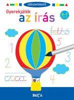 Könyv borító - Ceruzaforgató – Gyerekjáték az írás 6-7 éveseknek
