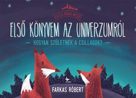 Könyv borító - Első könyvem az univerzumról – Hogyan születnek a csillagok?