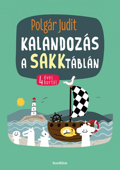 Könyv borító - Kalandozás a sakktáblán – 4 éves kortól