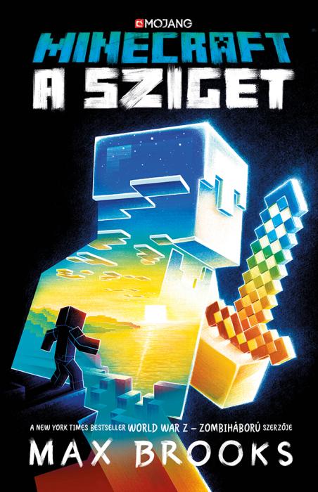 Könyv borító - Minecraft – A sziget