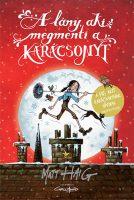 Könyv borító - A lány, aki megmenti a karácsonyt