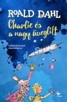 Könyv borító - Charlie és a nagy üveglift