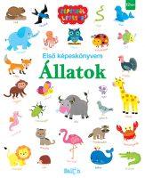 Könyv borító - Első Képeskönyvem – Állatok