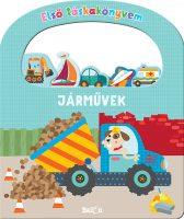 Könyv borító - Első táskakönyvem – Járművek