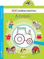 Könyv borító - 100 mókás matrica – A tanyán