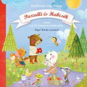 Könyv borító - Puszedli és Habcsók – Mese az öt szeretetnyelvről