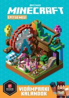 Könyv borító - Minecraft – Építsd meg! – Vidámparki kalandok