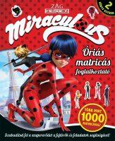 Könyv borító - Miraculous – Óriás matricás foglalkoztató