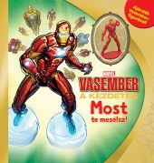 Könyv borító - Marvel – Most te mesélsz! – Vasember
