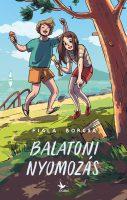 Könyv borító - Balatoni nyomozás