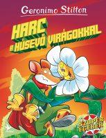 Könyv borító - Harc a húsevő virágokkal