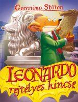 Könyv borító - Geronimo Stilton – Leonardo rejtélyes kincse