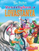 Könyv borító - Veszélyben a lovastanya