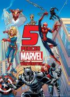 Könyv borító - 5 perces Marvel történetek