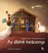 Könyv borító - Az állatok karácsonya