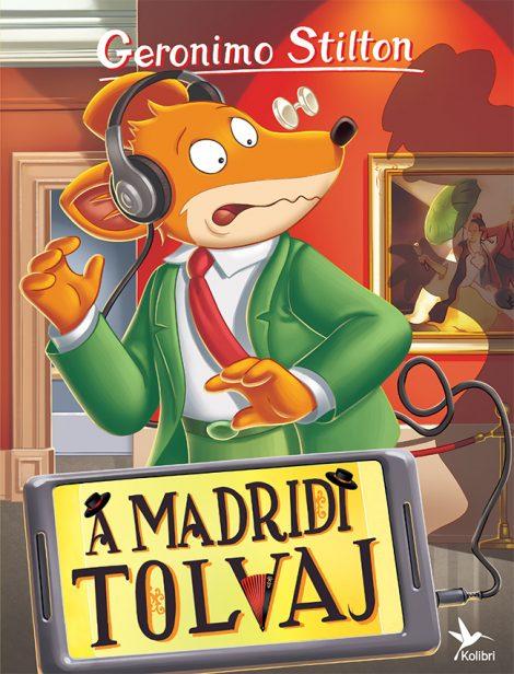 Könyv borító - A madridi tolvaj