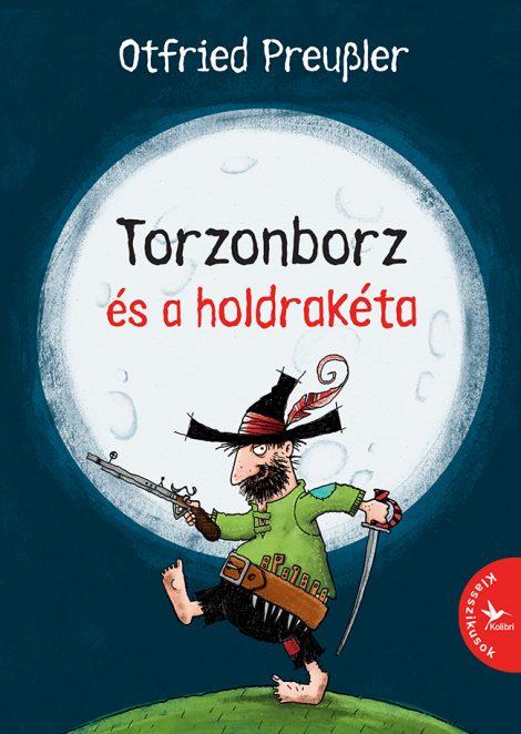 Könyv borító - Torzonborz és a holdrakéta