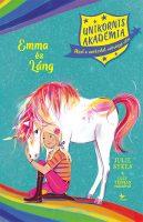 Könyv borító - Unikornis Akadémia: Emma és Láng