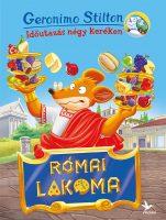 Könyv borító - Római lakoma