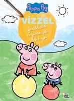 Könyv borító - Vízzel festhető színezőkönyv: Peppa malac