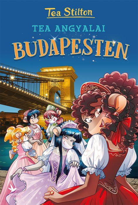 Könyv borító - Tea Angyalai Budapesten